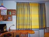 Фото-42. Римские шторы в детскую комнату мальчика.
