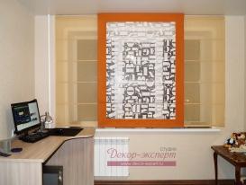 Римские шторы для комнаты мальчика подростка из Тольятти.
