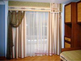 Фото-59. Шторы в морском стиле для детской комнаты.