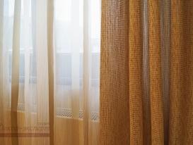 Тюль и портьерная ткань для штор в комнату девочки.