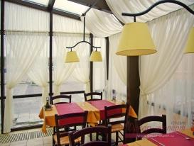 Фото-11. Фрагмен штор для итальянской пиццерии.
