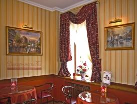 Фото-17. Шторы для кафе-кондитерской в Тольятти.