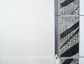 Цепочка управления рулонными шторами LUX, цвет хром блестящий.