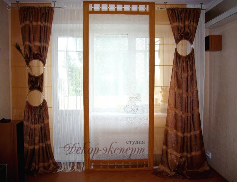 шторы, японские панели в Тольятти, дизайн штор Светлана Никитина