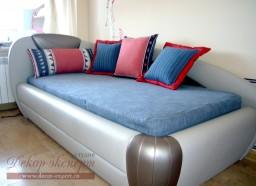 Шторы для детской в Тольятти, декоративные подушки в морском стиле, дизайн декора Светлана Никитина