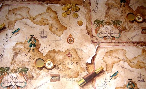 "Пиратское пано от производителя обоев для стен York из коллекции ""Brothers and Sisters IV"""