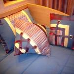 Декоративные подушки, дизайнер Светлана Никитина, шторы Тольятти