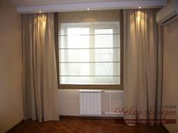 Римские шторы в Тольятти, дизайн штор Светлана Ниеитина