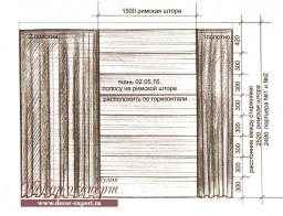 римские шторы в Тольятти, дизайн штор Светлана Никитина