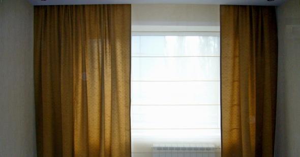 Римские шторы для зала в Тольятти