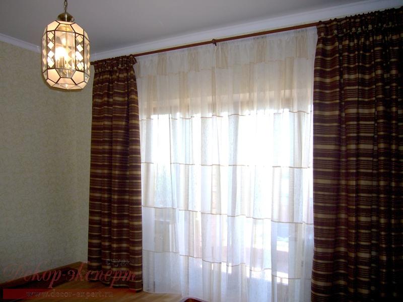 дизайн штор для спальни Светлана Никитина, студия Декор-эксперт в Тольятти