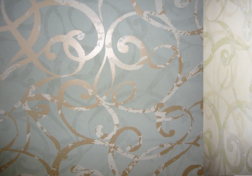 Бумажные обои для стен Wallquest из коллекции Firenze