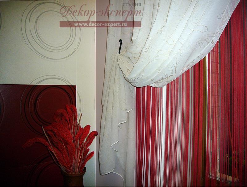 Дизайн штор для холла Светлана Никитина, студия Декор-эксперт в Тольятти