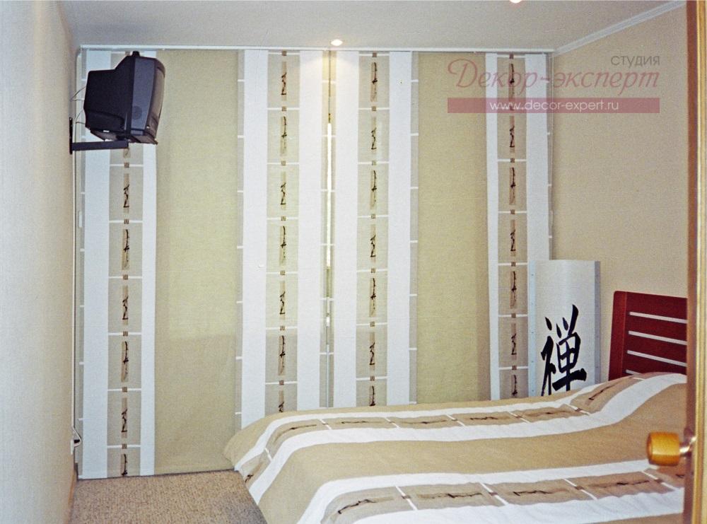 японские, шторы, для спальни, Тольятти