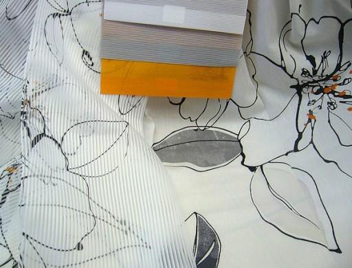 Портьерные ткани Fuggerhaus, сверху компаньоны - специализированные ткани для японских панелей.
