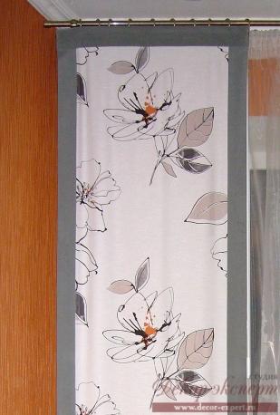Фрагмент панели с кантом из ткани Fuggerhaus