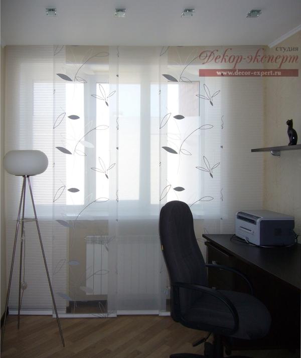 японские, шторы, панели, Тольятти, дизайн штор Светлана Никитина