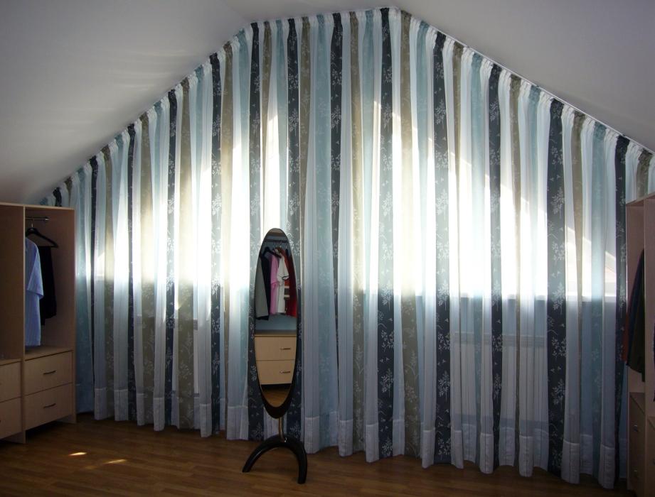 Шторы для мансарды, Тольятти, Дизайн штор Светлана Никитина