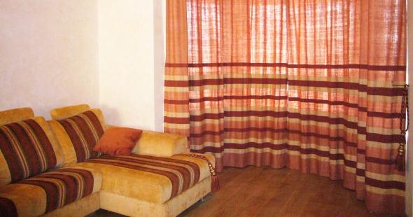 Шторы в русском стиле для зала, гостиной