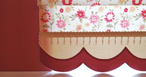 Римские шторы в детскую комнату для девочки в Тольятти