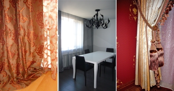 Шторы для зала и гостиной