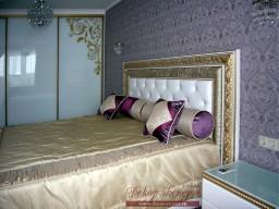 покрывало, для, спальни, в, современном, классическом, стиле, Тольятти, дизайн штор, Светлана Никитина, дизайнер