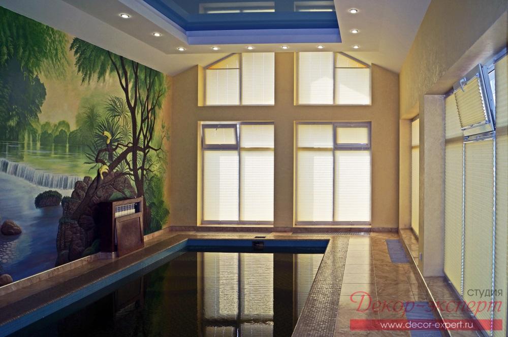 шторы для бассейна в Тольятти