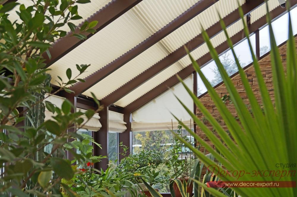 Шторы, жалюзи, плиссе, для зимнего сада, в, Тольятти, Самара, Сызрань, дизайнер Светлана Никитина