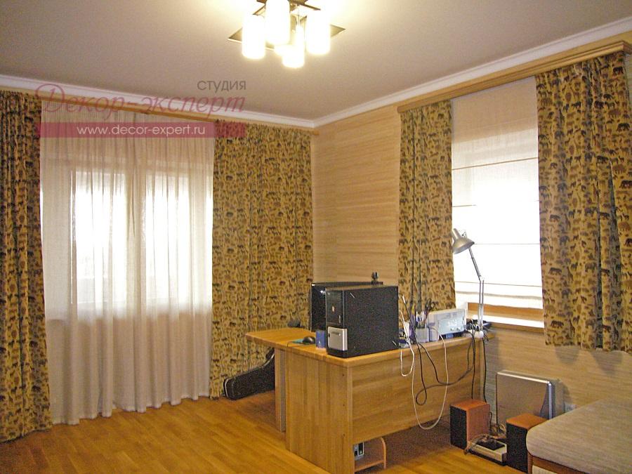 Шторы для кабинета в Тольятти