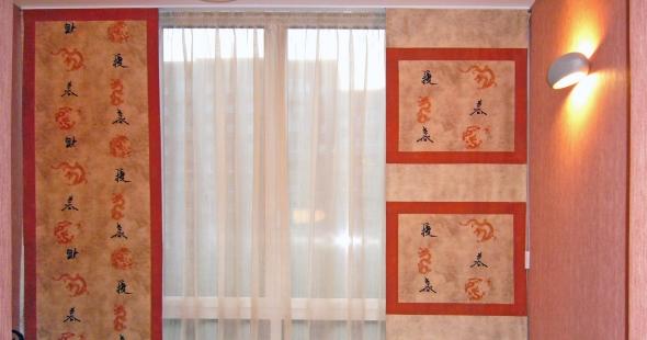японские шторы в детскую комнату мальчика
