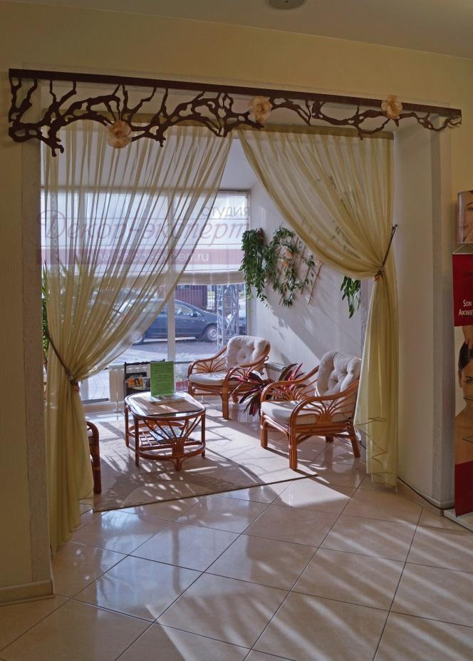Шторы с ажурным ламбрекеном в Тольятти