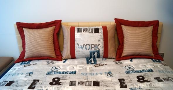 Декоративные подушки и покрывало в детскую комнату мальчика
