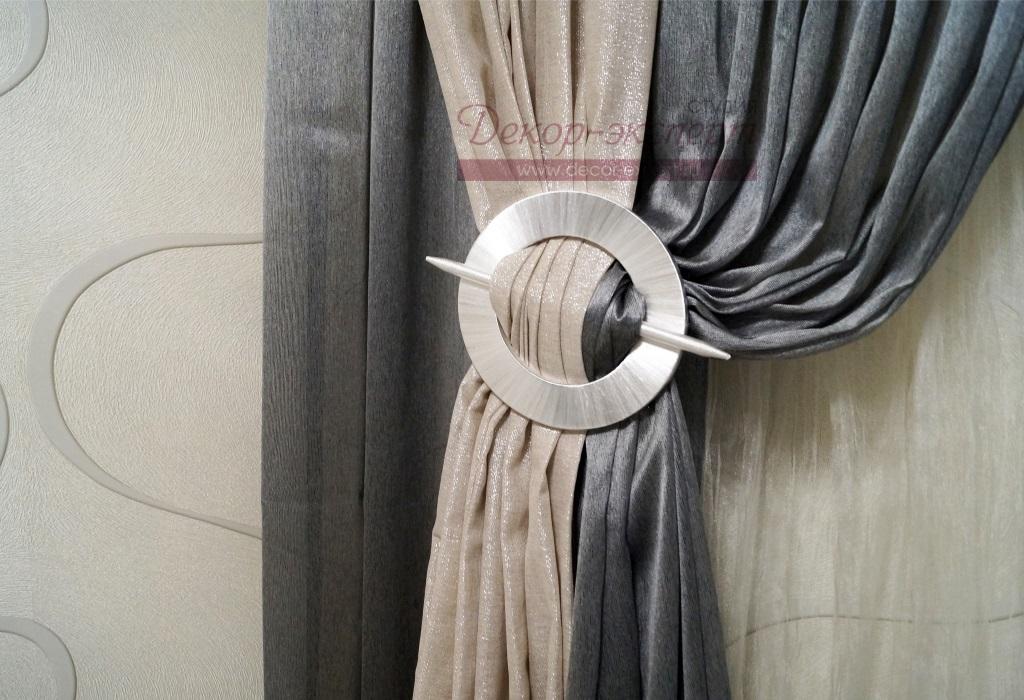 Декоративная заколка для штор, фото 1