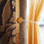 Японские шторы как яркий акцент в интерьере