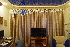 Фото ажурного ламбрекена у Светланы на Управленческом