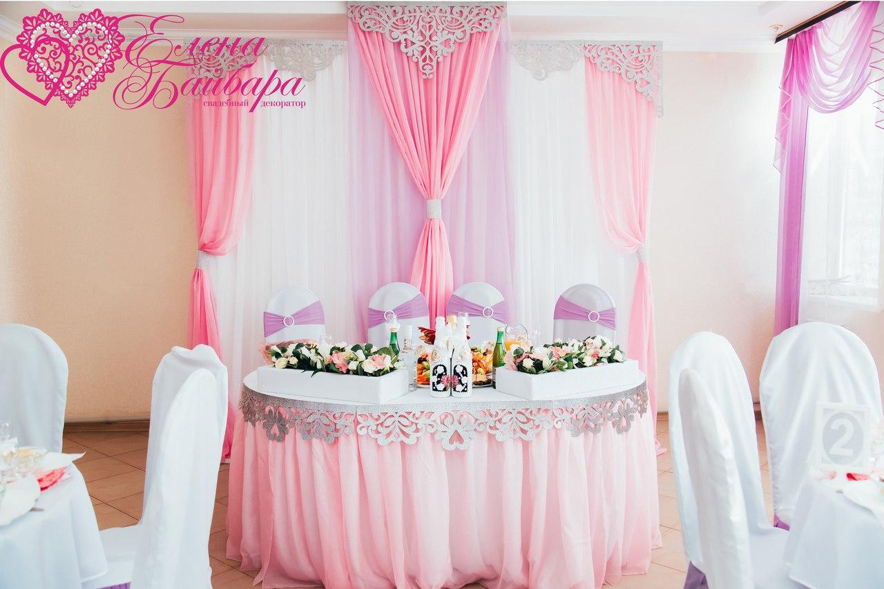 Использование ажурных ламбрекенов в декорировании свадеб