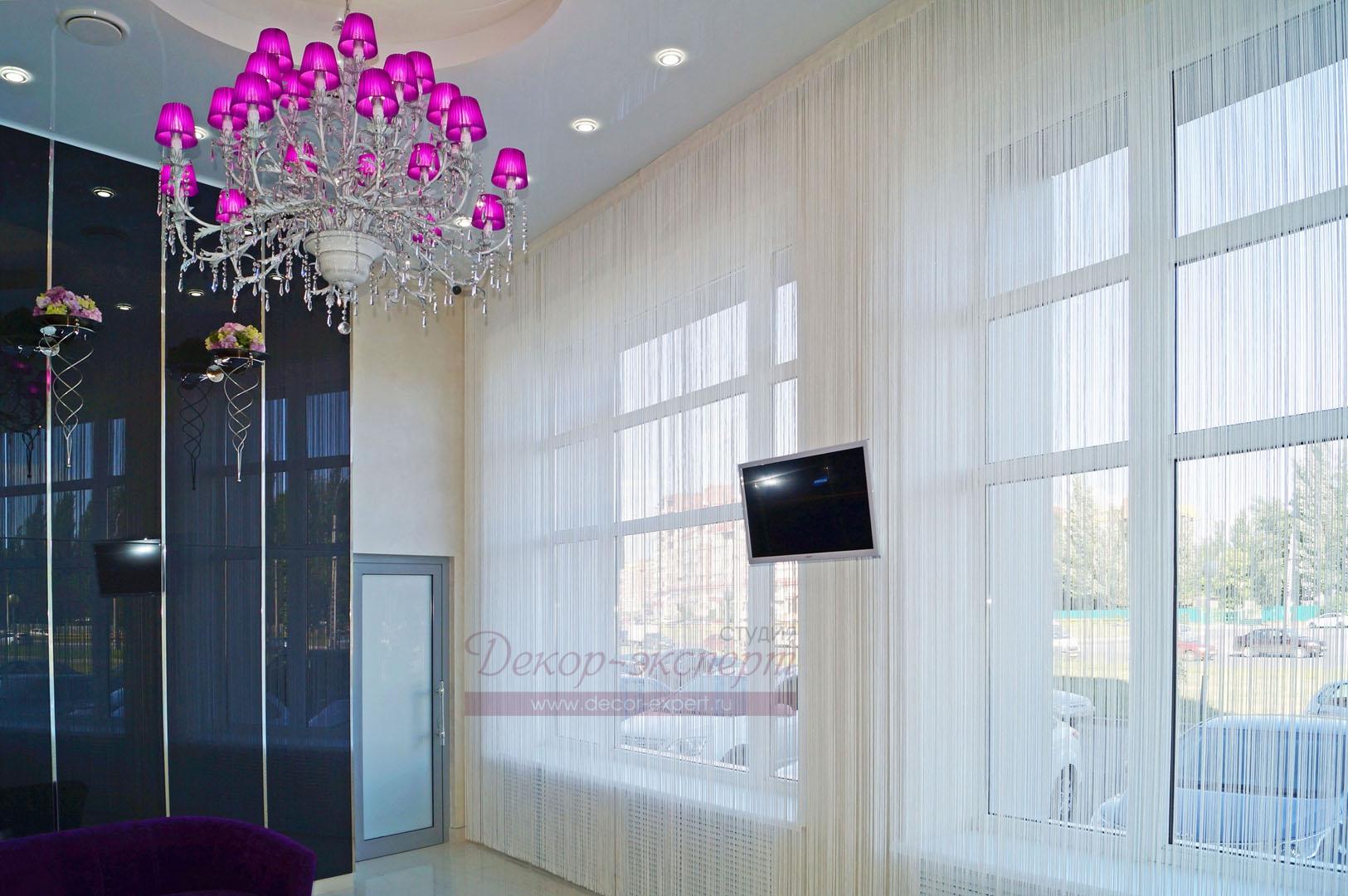 Фрагмент интерьера салона красоты