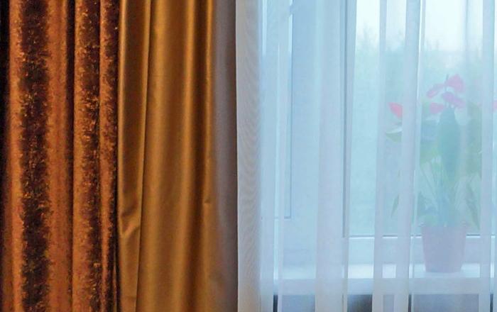 Шторы и покрывало для спальни в Сызрани
