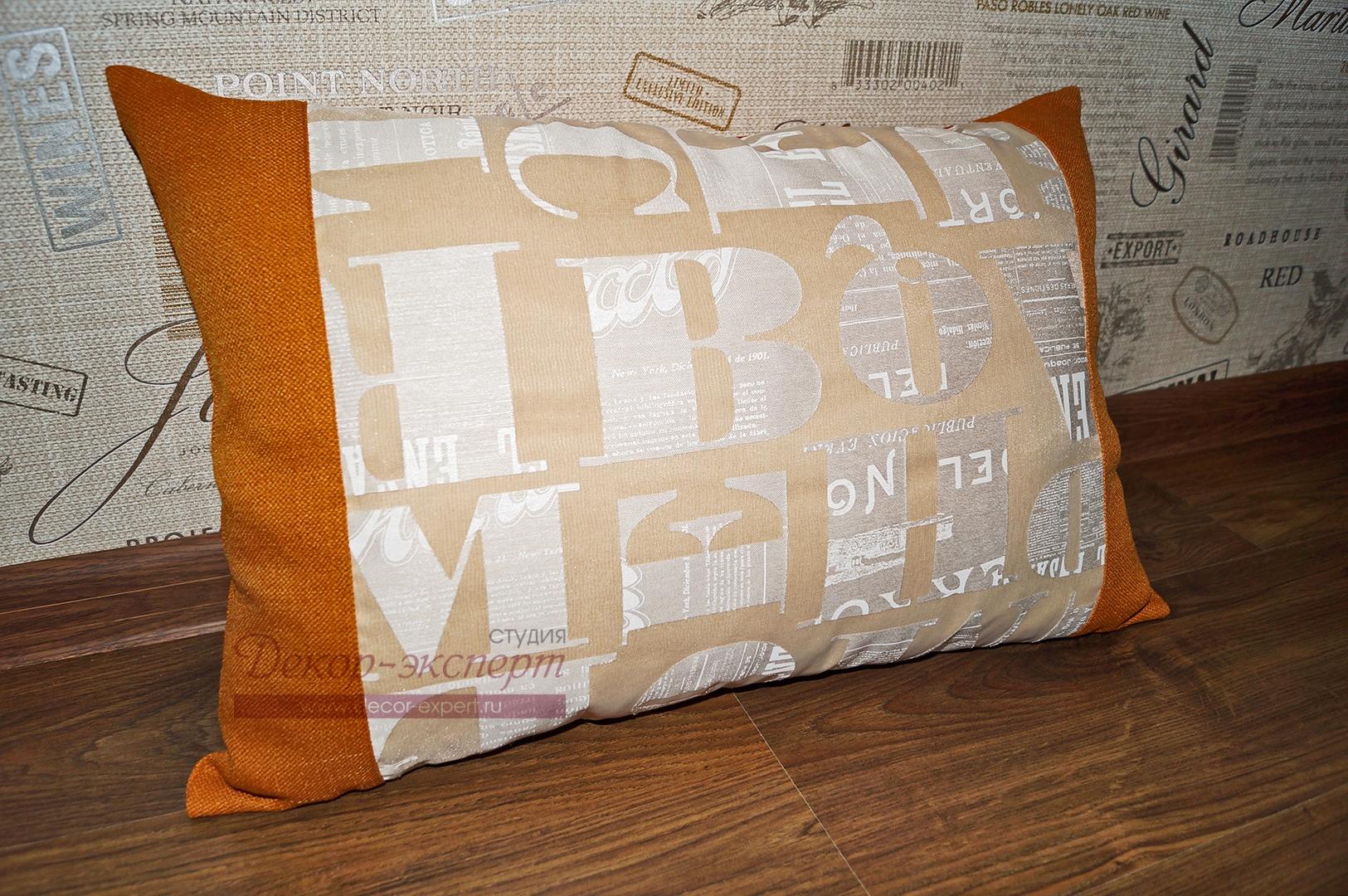 Декоративная подушка для комнаты мальчика подростка из Тольятти
