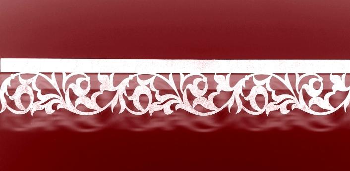 ажурный багет для карнизов