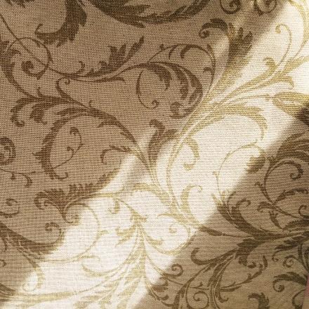 Фрагмент портьерной ткани