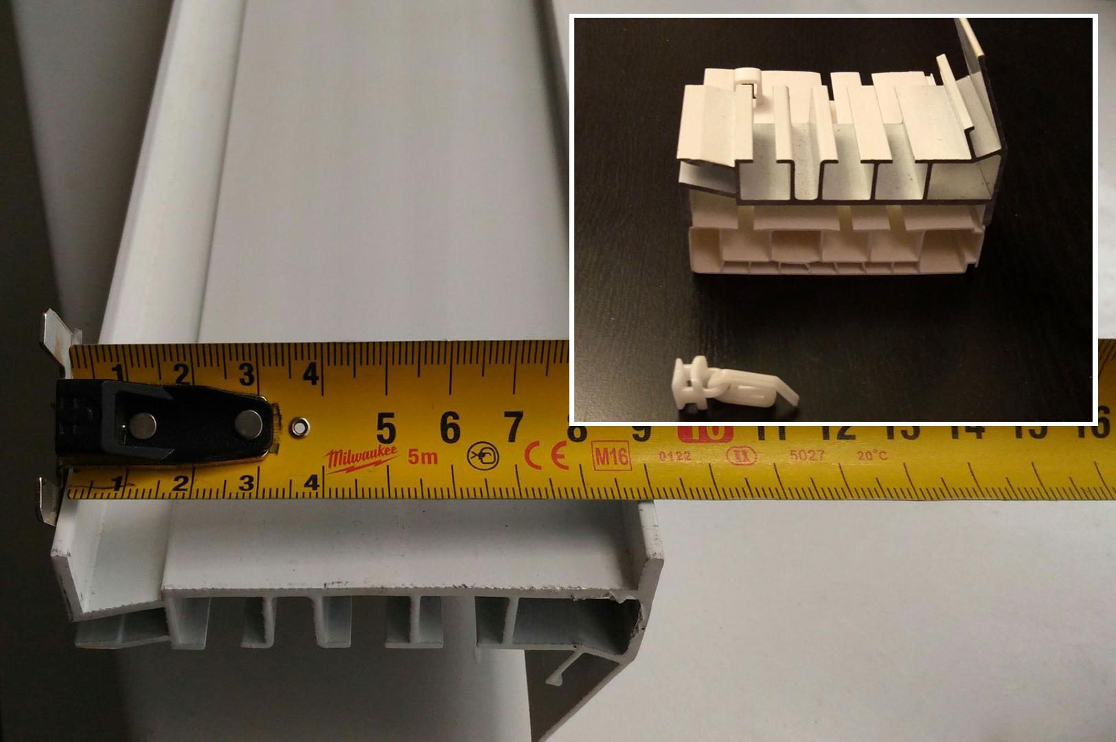 сравнение пластикового потолочного и алюминиевого профильного карниза