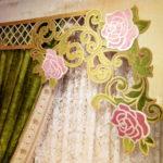 Ажурные ламбрекены, цветочный дизайн!